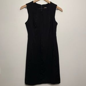 J. McLaughlin Sleeveless Black Cocktail Dress XS